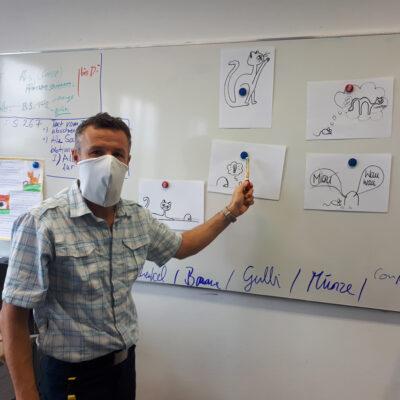 Medi-Cheval® Mehrweg-Gesichtsmaske in der Schule