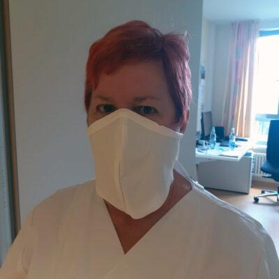 Medi-Cheval® Mehrweg-Gesichtsmaske in der Pflege