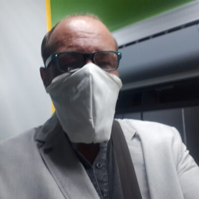 Medi-Cheval® Mehrweg-Gesichtsmaske in öffentlichen Verkehrsmitteln